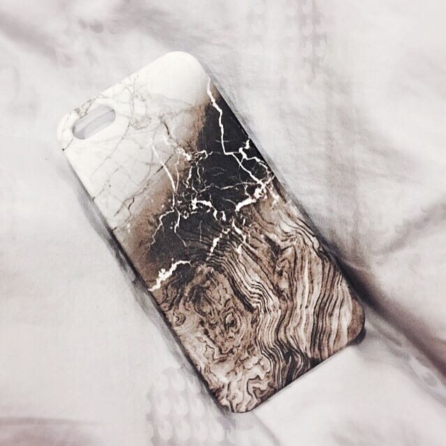 Marble/Wood textured iPhone 5/5s Case