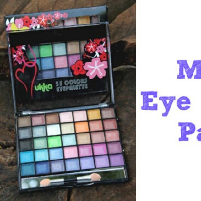 Mukka eyeshadow 35 colours pallete