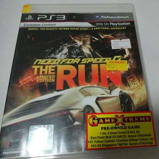 Ps3 Game Need For Speed: The Run Limited Ed