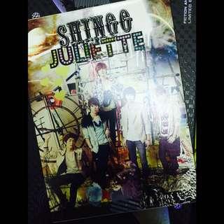 SHINee[Juliette 第二張日文單曲 初回生產限定盤 Type A 日版]