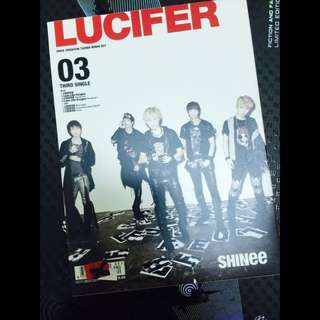 SHINee[LUCIFER 第四張日文單曲 初回生產限定盤 Type B 日版]