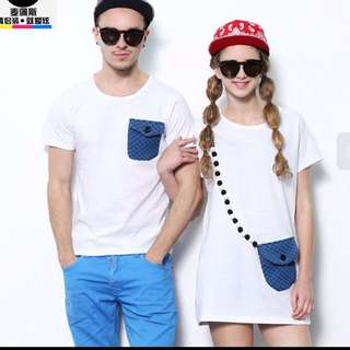 T-shirt For Couples(item Preorder)