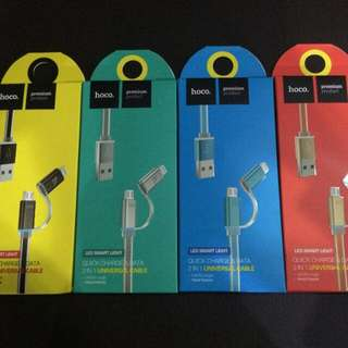 HOCO Charging Cable 2in1