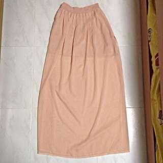 (PENDING) Pink Maxi Skirt