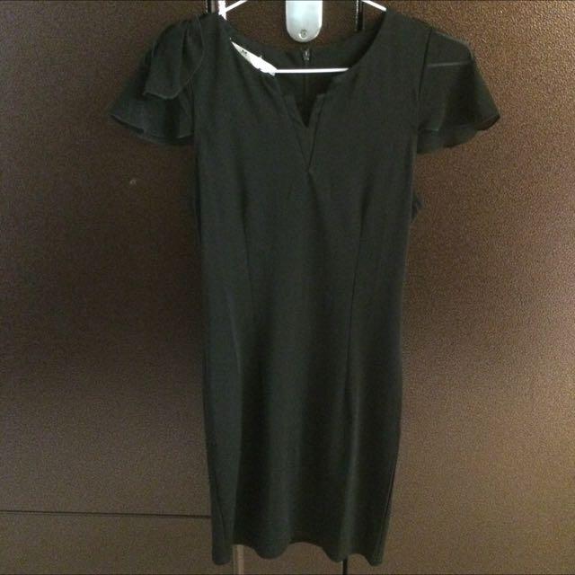 韓版貼身洋裝