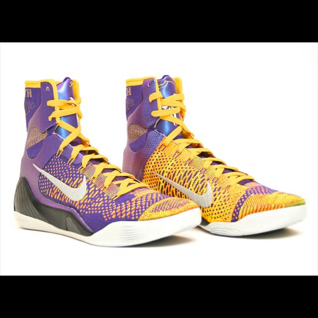 quality design b4477 f95eb Kobe 9 High Cut☆team☆ Sports Shoe!, Sports on Carousell