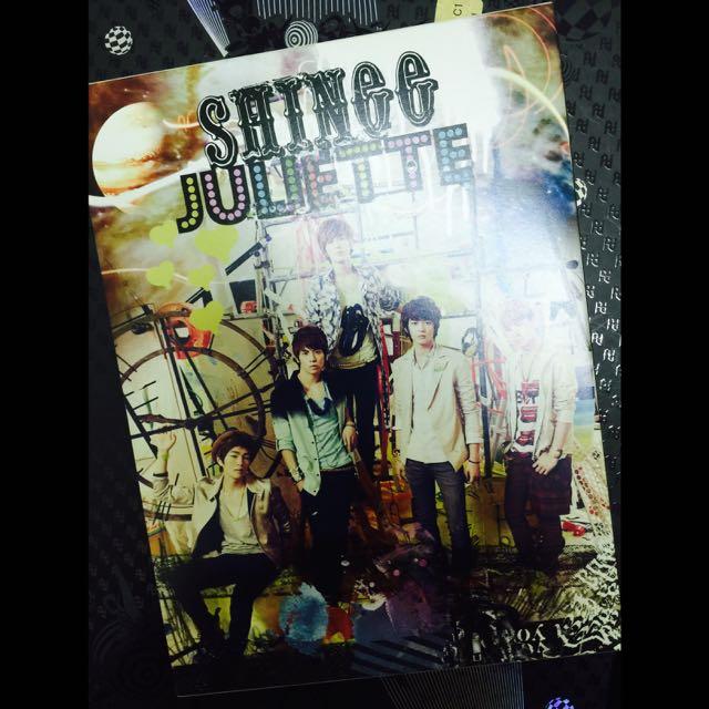 SHINee[Juliette 第二張日文單曲 初回生產限定盤 Type B 日版]