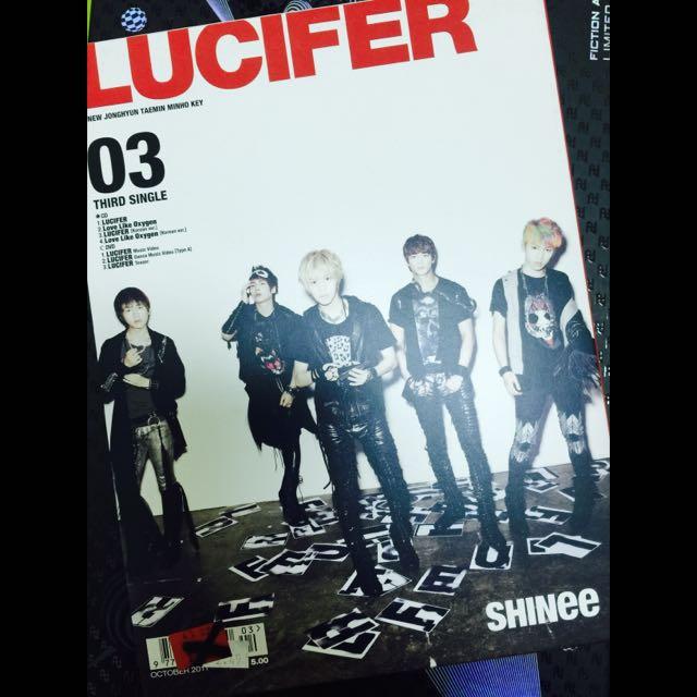 SHINee[LUCIFER 第四張日文單曲 初回生產限定盤 Type A 日版]
