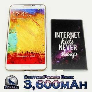 3600mAh Mini Custom Powerbank