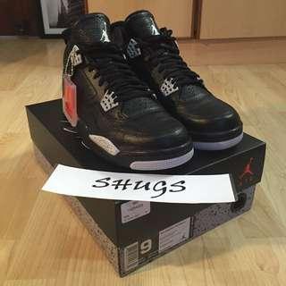 "Air Jordan 4 ""Oreo"" Remastered"