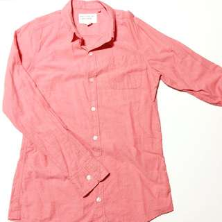 Factorie Pink Long Sleeve Shirt
