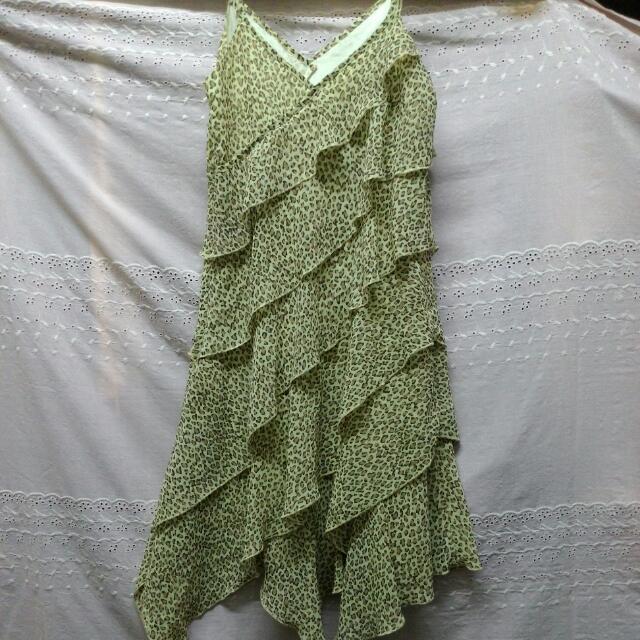 全新日本豹紋洋裝