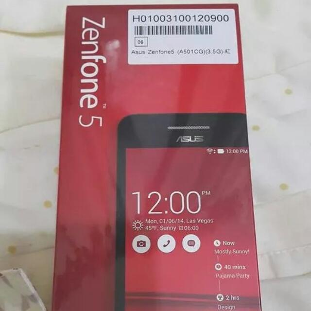 【保留中】ASUS ZenFone5