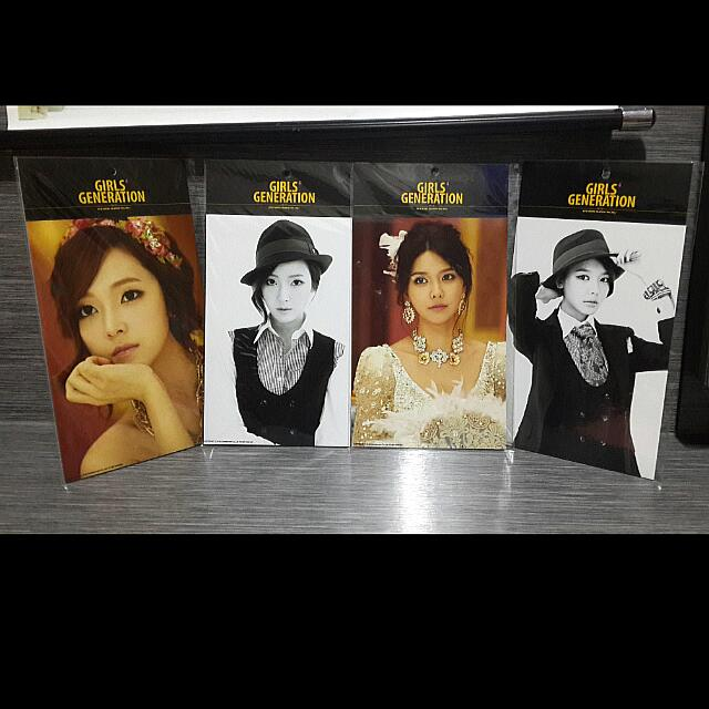 Girls Generation SNSD SM Pop-up Store Official Merchandise - Mr Mr Photocard (Jessica / Sooyoung Only) (EXTREMELY RARE!)