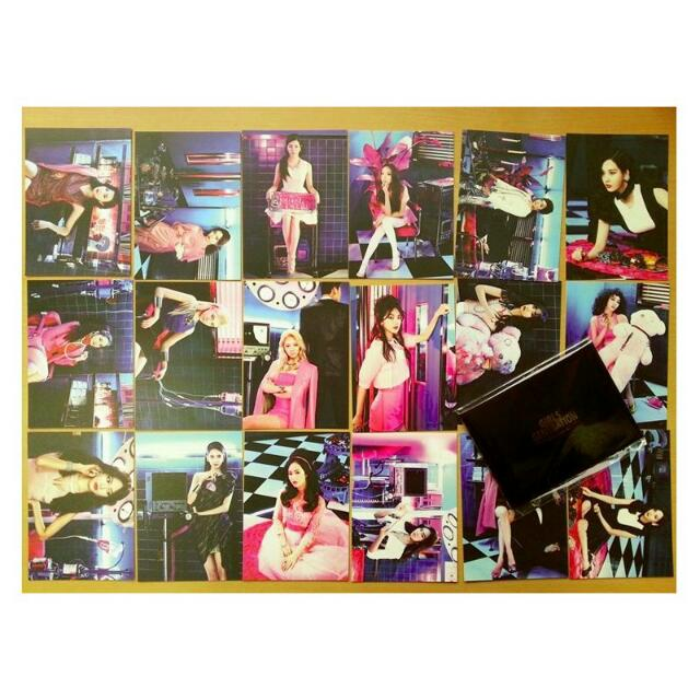 Girls Generation SNSD SM Pop-up Store Official Merchandise - Mr Mr Postcard Set (EXTREMELY RARE)