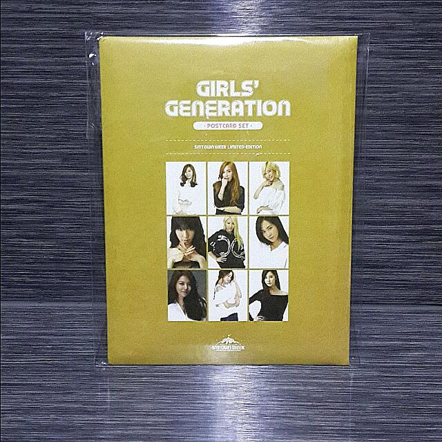 [PENDING] Girls Generation SNSD SMTown Week Concert Official Merchandise - Postcard Set Limited Edition (EXTREMELY RARE)