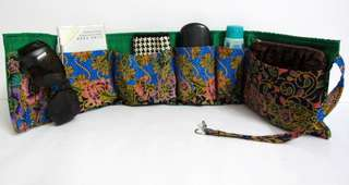 Wrap-around Bag Organizer (Handmade)