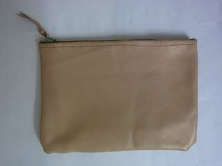 Soft Brown Leather Pouch