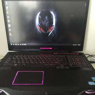 Alienware M17r4 Don't Want To Say That Much Buy In 2013Cny Right Want To Change To iMac Or Desktop
