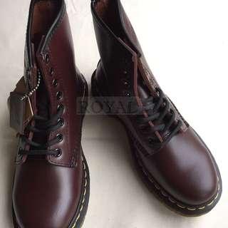 Dr.martens 1460 酒紅 8孔 馬丁 馬汀 靴子 鞋子