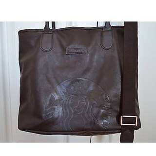 Starbucks Leather Bag Authentic