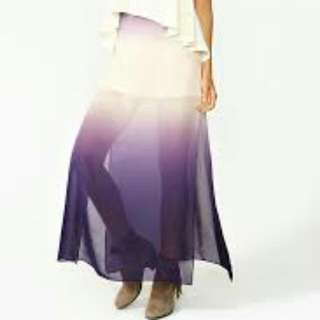 Nasty gal Ombre Maxi Skirt