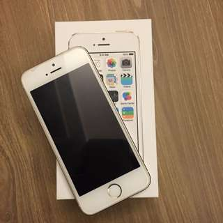 二手 I Phone5s 16G 自用狀況良好