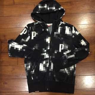 PUMA 黑色質感外套 M號