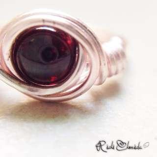 Garnet Vortex Ring