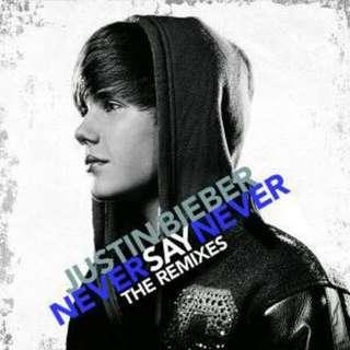 Justin Bieber 小賈斯汀 Never Say Never 迷你專輯