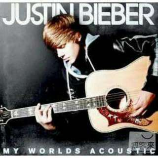 Justin Bieber 小賈斯汀 My Worlds Acoustic 專輯
