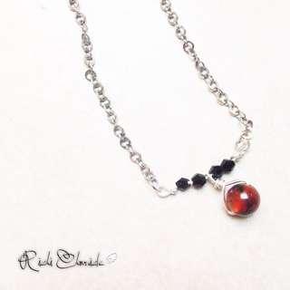 Twilight Drop Necklace