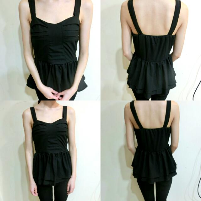 ::全新小洋裝 黑色性感洋裝