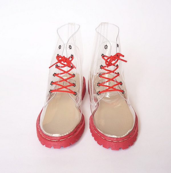 Jelly Strawberry Boots Docmart Shoes