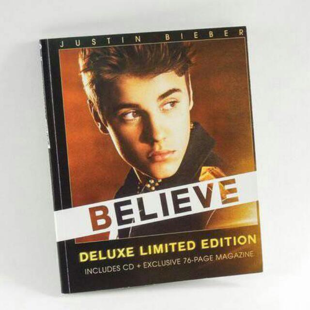 Justin Bieber 小賈斯汀 Believe 雜誌限定盤