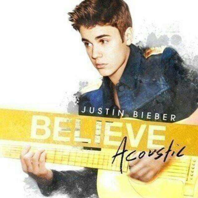 Justin Bieber 小賈斯汀 Believe Acoustic 專輯