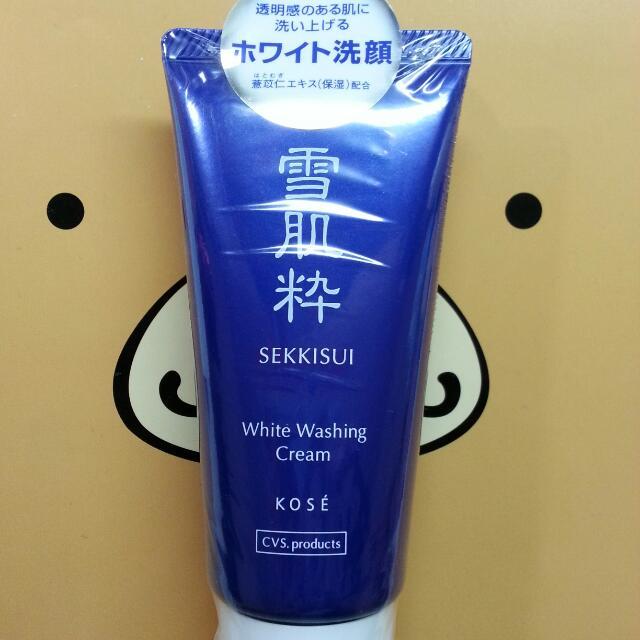 (全新)KOSE 高絲 雪肌粹 洗面乳 80g