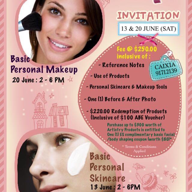 Skincare And Makeup Courses Saubhaya