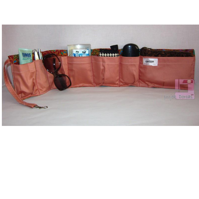 Wrap-around Bag Organizer (Handmade)