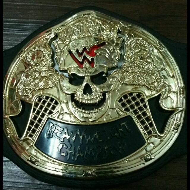 [RESERVED] WWE WWF JAKKS SMOKING SKULL CHAMPIONSHIP KIDS BELT LOOSE STONE COLD STEVE AUSTIN