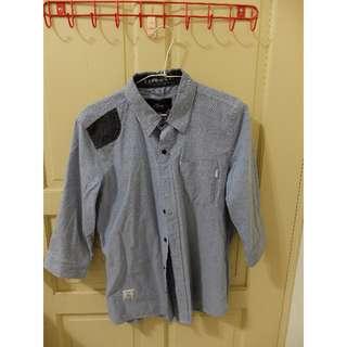 二手 七分袖襯衫