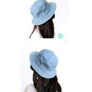 丹寧漁夫帽
