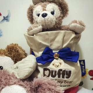 日本東京迪士尼帶回的Duffy達菲水桶包(9成新)