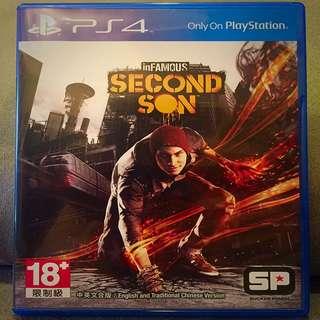 PS4 惡名昭彰 第二之子