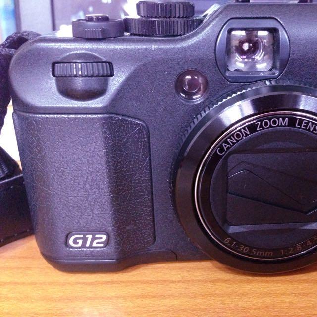 二手 Canon-G12 翻轉螢幕相機