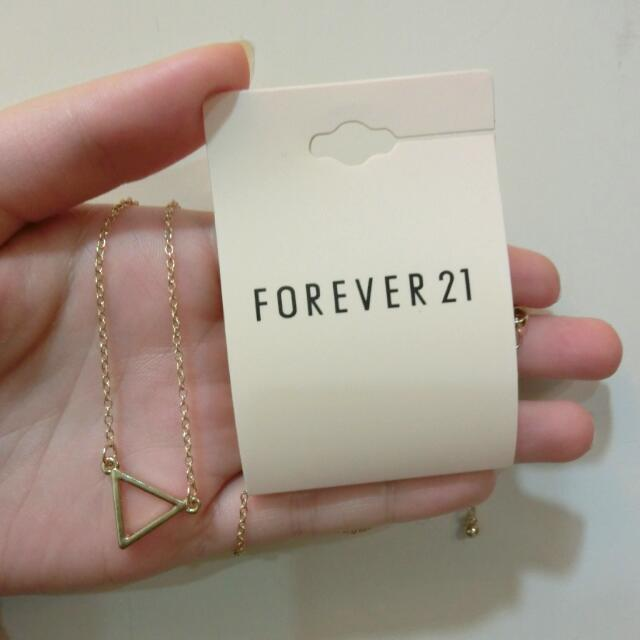 ::全新含運 Forever21三角形項鍊
