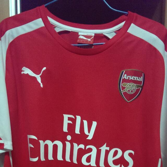 online store 99fac 39202 Authentic Arsenal Home kit 2014/15 Season