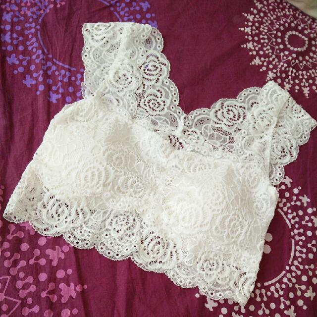 Korea Lace Camisole (White)