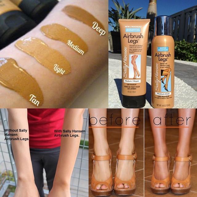 PRE ORDER SALLY HANSEN AIR BRUSH LEGS
