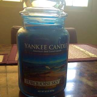 BN Yankee Candles... Turquoise Sky